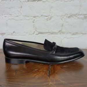 Cole Haan vintage black leather loafers size 9